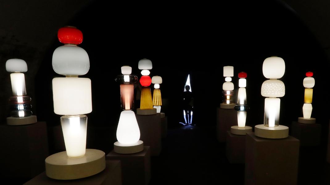 Εκθεση designers επίπλων στο Μιλάνο – Φωτογραφία: AP Photo/Antonio Calanni