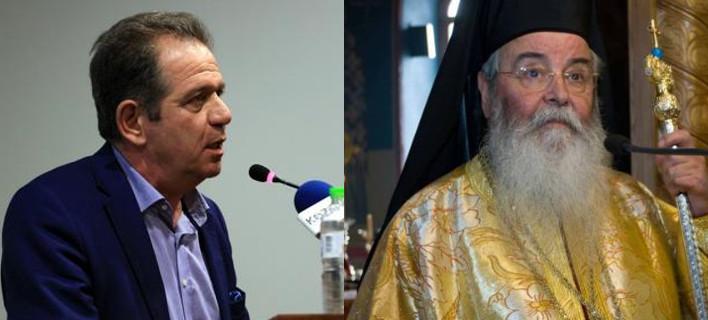 Ο Μητροπολίτης Σερβίων & Κοζάνης δεν άφησε βουλευτή του ΣΥΡΙΖΑ να τον ασπαστεί γιατί ψήφισε τη διόρθωση φύλου