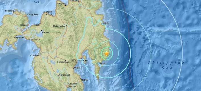 Xάρτης: EARTHQUAKE.USGS.GOV
