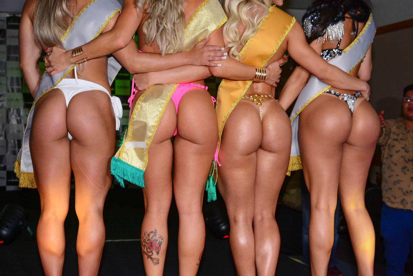 Трахнул огромную бразильскую попу
