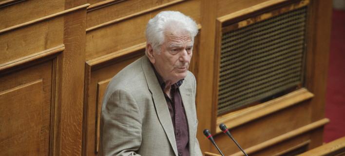Ο βουλευτής του ΣΥΡΙΖΑ, Τριαντάφυλλος Μηταφίδης/Φωτογραφία: Eurokinissi