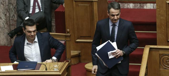 Δημοσκόπηση: Η ΝΔ προηγείται σταθερά – Στο 31,2% έναντι 15% του ΣΥΡΙΖΑ