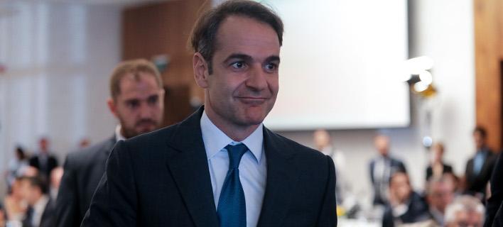 O Kωνσταντίνος Μητσοτάκης/ Φωτογραφία intime
