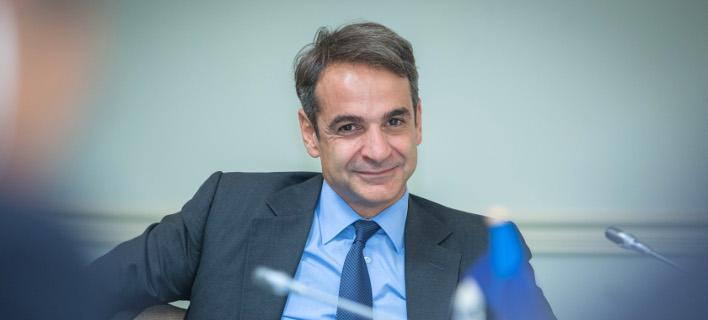 Ο Κυριάκος Μητσοτάκης στο ΕΛΚ -Φωτογραφία: EPP
