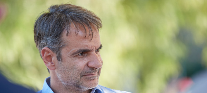 O πρόεδρος της Νέας Δημοκρατίας, Κυριάκος Μητσοτάκης-Φωτογραφία: Intimenews/Δημήτρης Παπαμήτσος