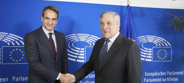Με τον πρόεδρο του Δικαστηρίου Ανθρωπίνων Δικαιωμάτων συναντήθηκε ο Μητσοτάκης