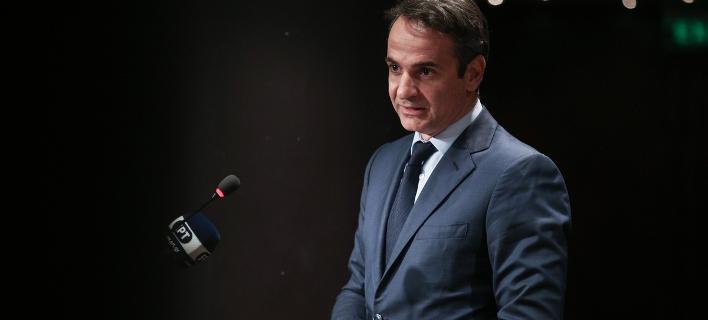 Ο πρόεδρος της ΝΔ Κυριάκος Μητσοτάκης / Φωτογραφία: SOOC/Nikos Libertas