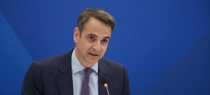 Ο πρόεδρος της Νέας Δημοκρατίας, Κυριάκος Μητσοτάκης/Φωτογραφία: Eurokinissi