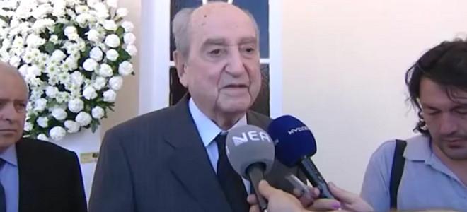 Ο Κωνσταντίνος Μητσοτάκης προσκύνησε τον Ειρηναίο [βίντεο]
