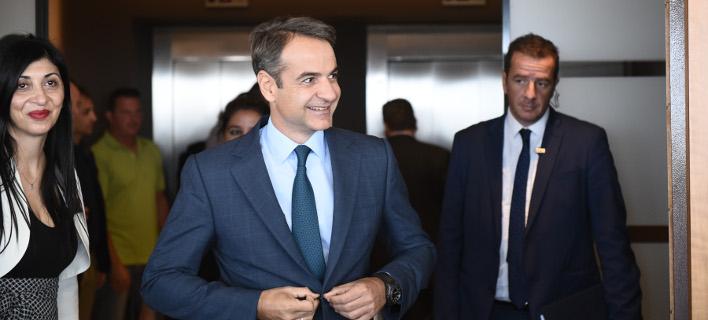 Με τον Γάλλο ΥΠΕΞ θα συναντηθεί σήμερα ο Κυριάκος Μητσοτάκης
