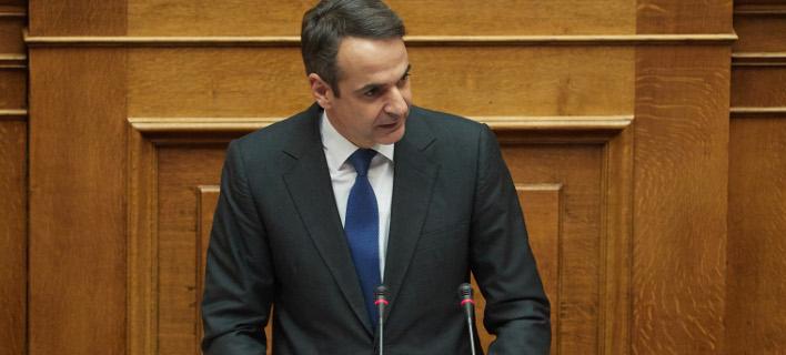 Ο Μητσοτάκης κατέθεσε πρόταση μομφής κατά της κυβέρνησης
