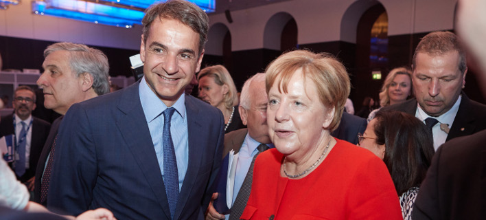 Συνάντηση του Κυριάκου Μητσοτάκη με την Ανγκελα Μέρκελ στο Μόναχο / Φωτογραφία: Intimenews/ΠΑΠΑΜΗΤΣΟΣ ΔΗΜΗΤΡΗΣ