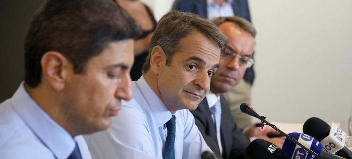 Μητσοτάκης: Εξοργιστική ανοχή της κυβέρνησης απέναντι στον Ρουβίκωνα
