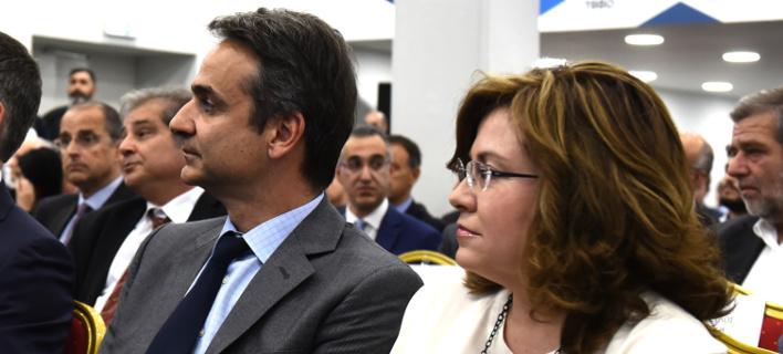 Νέα καθήκοντα στη ΝΔ αναλαμβάνει η Μαρία Σπυράκη / Eurokinissi: ΜΠΟΛΑΡΗ ΤΑΤΙΑΝΑ