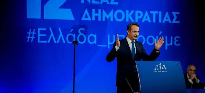 Ο Κυριάκος Μητσοτάκης/ Φωτογραφία: EUROKINISSI- ΓΙΩΡΓΟΣ ΚΟΝΤΑΡΙΝΗΣ