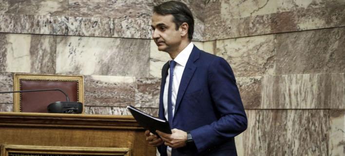Ο Κυριάκος Μητσοτάκης (Φωτογραφία: EUROKINISSI/ΓΙΩΡΓΟΣ ΚΟΝΤΑΡΙΝΗΣ)