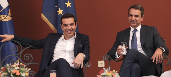 Στο 10,1% η διαφορά ΝΔ-ΣΥΡΙΖΑ καταγράφεται σε νέα δημοσκόπηση της Marc