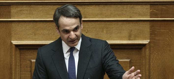 Ο πρόεδρος της ΝΔ θα μιλήσει στη Βουλή για την πώληση λιγνιτικών μονάδων της ΔΕΗ -Φωτογραφία: Intimenews