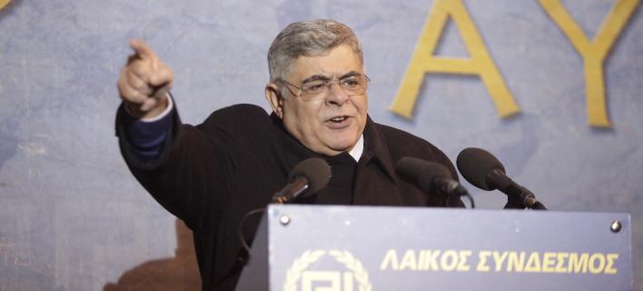 Ο αρχηγός της Χρυσής Αυγής, Νίκος Μιχαλολιάκος. Φωτογραφία: Eurokinissi