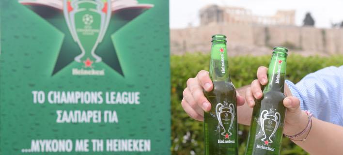 Ο τελικός του UEFA Champions League σαλπάρει για …Μύκονο με τη Heineken [εικόνες]