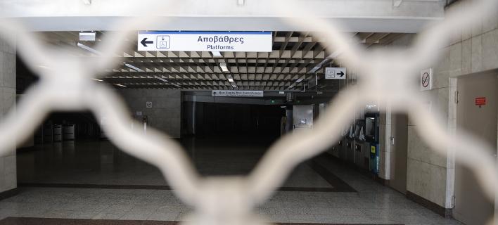 Απεργία στα Μέσα Μαζικής Μεταφοράς (Φωτογραφία: Eurokinissi)
