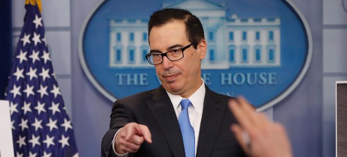 Φωτογραφία: O υπουργός Οικονομικών των ΗΠΑ/AP