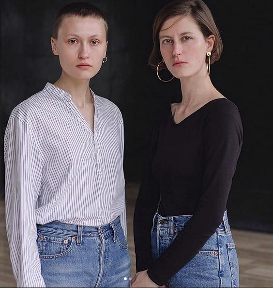 Model Law οι Ekaterina Ozhiganova και Gwenola Guichard