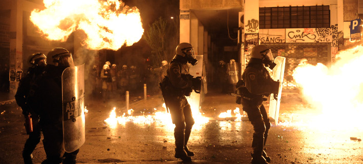 Διαδοχικές επιθέσεις με μολότοφ στα Εξάρχεια (Φωτογραφία αρχείου: EUROKINISSI/ΤΑΤΙΑΝΑ ΜΠΟΛΑΡΗ)