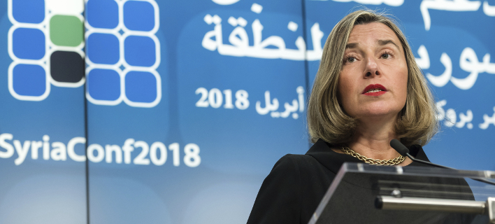 Η Φεντερίκα Μογκερίνι/ Φωτογραφία AP images