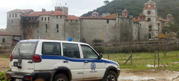 Ενταση και αστυνομία στο Αγιον Ορος για το... αμπέλι της Μονής Εσφιγμένου