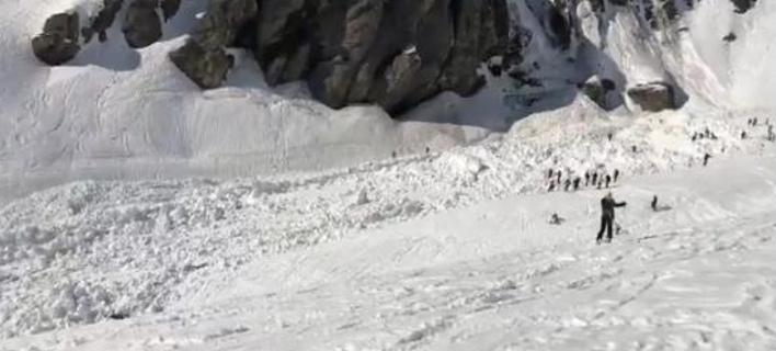Χιονοστιβάδα έπληξε το Κραν Μοντανά -Δεν υπάρχουν νεκροί λένε οι αρχές