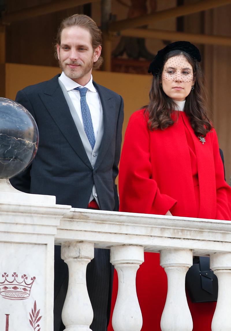Ο Αντρέα Καρισάγκι και η σύζυγός του Σάντο Ντομίνγκο/ Φωτογραφία: AP