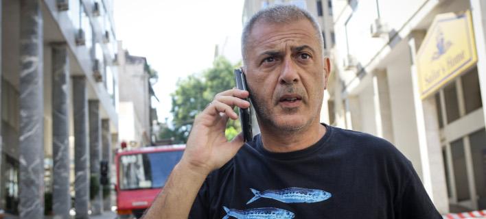Ο Δήμαρχος Πειραιά, Γιάννης Μώραλης -Φωτογραφία: EUROKINISSI/ΓΙΑΝΝΗΣ ΠΑΝΑΓΟΠΟΥΛΟΣ