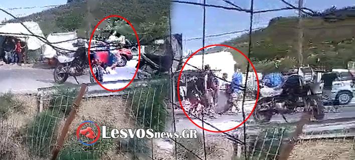 Αγρια επεισόδια στη Μόρια μεταξύ μεταναστών -Τουλάχιστον 6 τραυματίες [βίντεο]