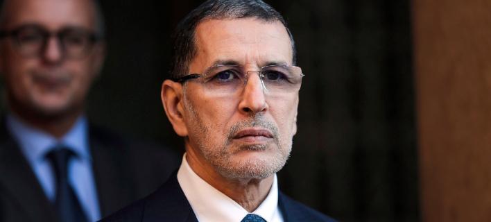 Ο πρωθυπουργός του Μαρόκου, Σααντεντίν Ελ Οτμανί. Φωτογραφία: AP