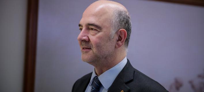 Πιέρ Μοσκοβισί (Φωτογραφία: EUROKINISSI/ΣΤΕΛΙΟΣ ΜΙΣΙΝΑΣ)
