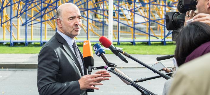 «Δεν θέλουμε τέταρτο πρόγραμμα», δήλωσε ο Μοσκοβισί (Φωτογραφία: EUROKINISSI)