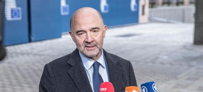 Ο Επίτροπος Οικονομικών της Ε.Ε. Πιέρ Μοσκοβισί -Φωτογραφία αρχείου: European Union