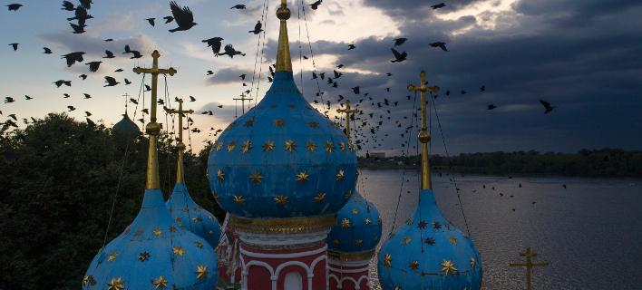 Η πόλη Ούγκλιτς (Φωτογραφία: AP Photo/Dmitri Lovetsky)