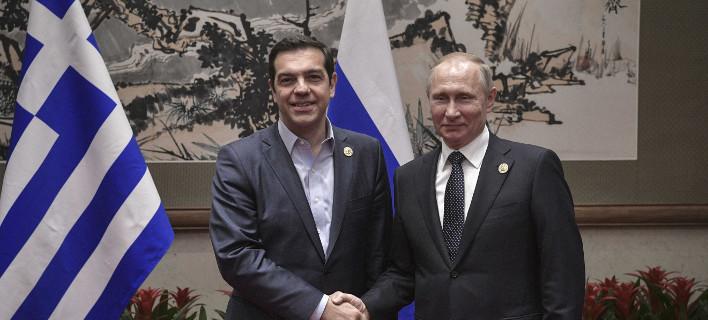 Εκλεισε το ραντεβού Πούτιν-Τσίπρα στη Μόσχα -Στις 7 Δεκεμβρίου