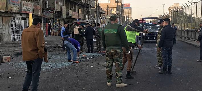 13 νεκροί από βομβιστική επίθεση με αυτοκίνητο έξω από εστιατόριο στην Μοσούλη (Φωτογραφία αρχείου: AP Photo/Ali Abdul Hassan)