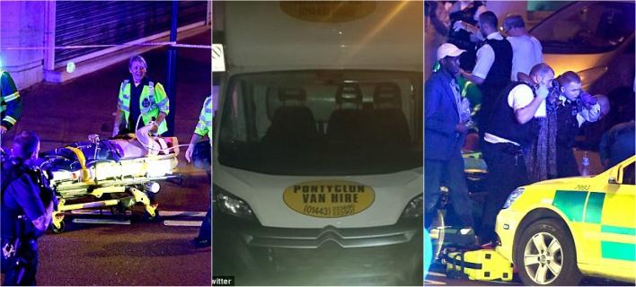 Τρόμος στο Λονδίνο: Βαν έπεσε πάνω σε πιστούς έξω από τζαμί -Ενας νεκρός, 10 τραυματίες [εικόνες]
