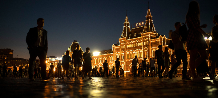 Η Κόκκινη Πλατεία στη Μόσχα (Φωτογραφία: AP Photo/Francisco Seco)