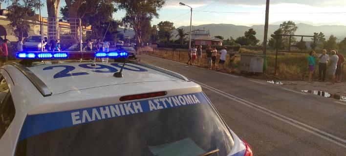 Περιπολικό εν δράσει/ Φωτογραφία: Eurokinissi