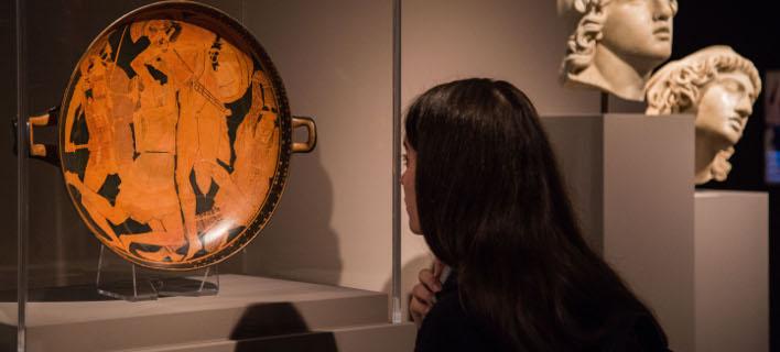 Αυξήθηκαν οι επισκέπτες στα μουσεία (Φωτογραφία: EUROKINISSI / ΒΑΣΙΛΗΣ ΡΟΥΓΓΟΣ)