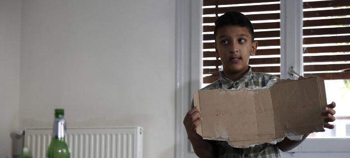 O Mουζάλας συναντήθηκε με τον Αμίρ -Ο 11χρονος μίλησε στο τηλέφωνο και με τον Τσίπρα