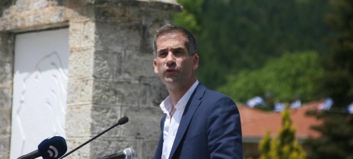 Ο περιφερειάρχης Στερεάς Ελλάδας, Κώστας Μπακογιάννης/Φωτογραφία: Eurokinissi