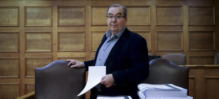Ο βουλευτής του ΣΥΡΙΖΑ Αντώνης Μπαλωμενάκης /Φωτογραφία: Εurokinissi