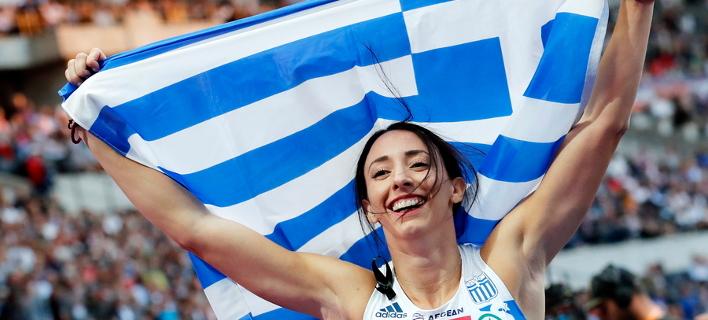Μαρία Μπελιμπασάκη (Φωτογραφία: EPA/FELIPE TRUEBA)