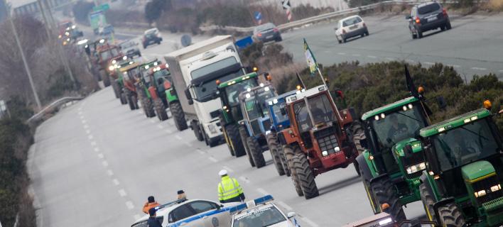 αγρότες/Φωτογραφία: Eurokinissi